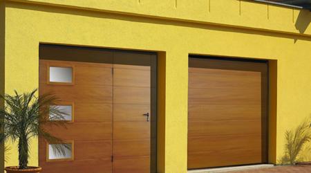 Prix d 39 une porte de garage avec portillon co t moyen tarif de pose - Prix porte garage ...