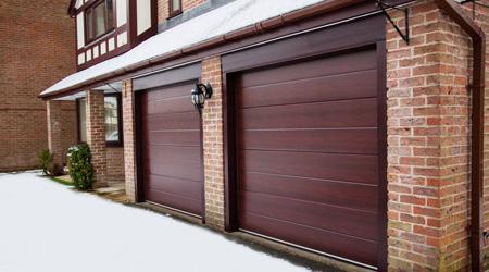 Prix d'une porte de garage sectionnelle en bois