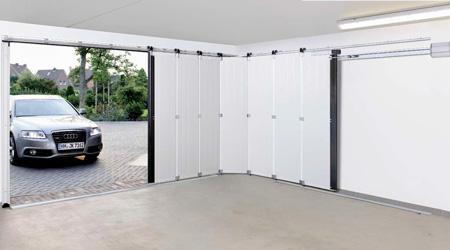 Prix d'une porte de garage sectionnelle en PVC