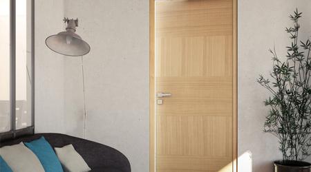 Prix d'une porte intérieure bois plane