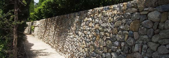 Prix pose mur en pierre
