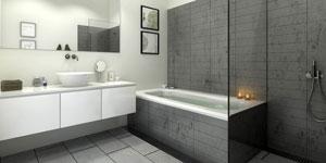 Prix d 39 une salle de bain co t moyen tarif d - Cout d une salle de bain ...