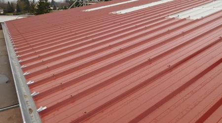 Prix d'une toiture bac acier joint debout