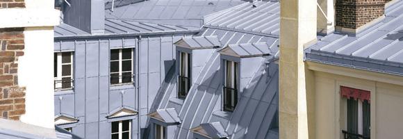 Prix d'une toiture en zinc