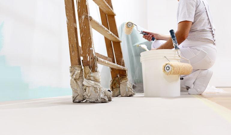 Prix des travaux de peinture : Les cloisons et doublages de murs