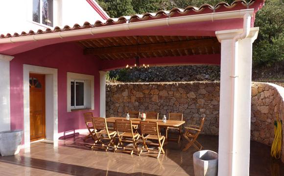 Couvrir Une Terrasse Avec Des Tuiles Beautiful Construire Une