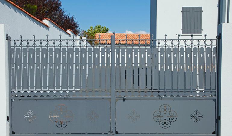 Quel est le prix d'un portail en fer forgé
