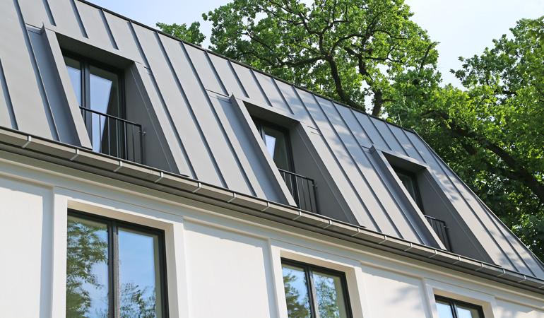 Quel est le prix d'une toiture en zinc au m²