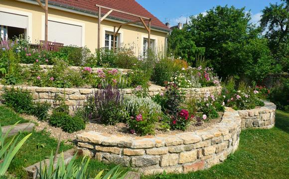 Réaliser un soutènement pour stabiliser une terrasse