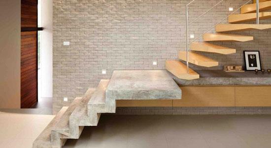 Les règles recommandées pour les escaliers privés