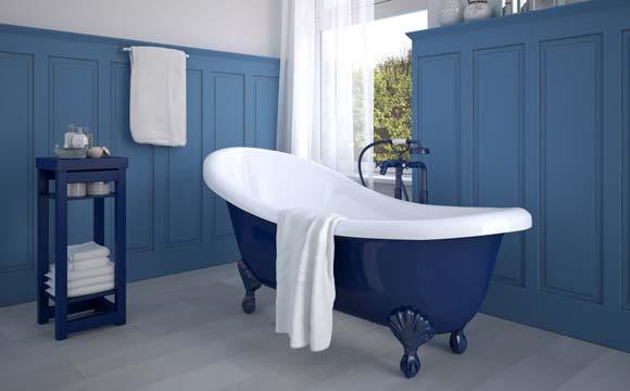 Rénovation d'une baignoire à la peinture