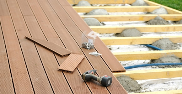 Renover une terrasse