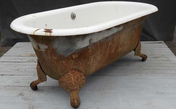 Restaurer une vraie baignoire rétro