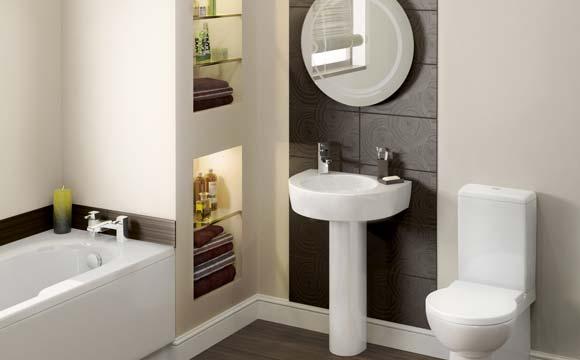 Am nagement de salle de bain nos conseils d 39 agencement - Prix pose carrelage mural salle de bain ...