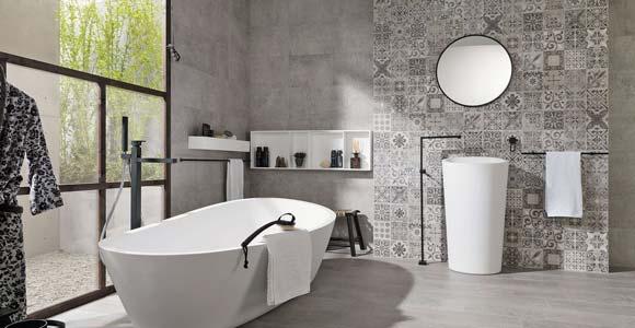 Rev tement mural pour une salle de bain lequel choisir - Mitigeur mural salle de bain ...