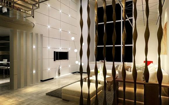 Poser des rideaux pour délimiter l'espace