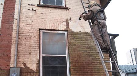 Sablage de façade, location ou intervention professionnelle
