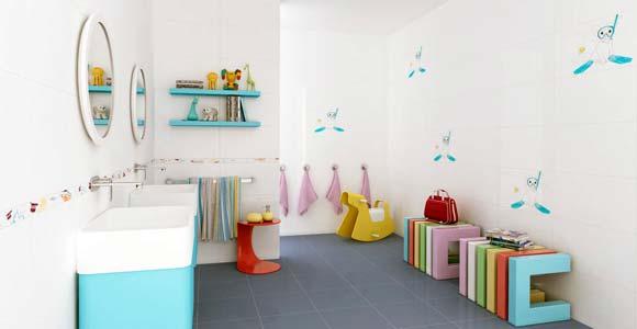 salle de bain enfant id es ludiques originales et pratiques. Black Bedroom Furniture Sets. Home Design Ideas
