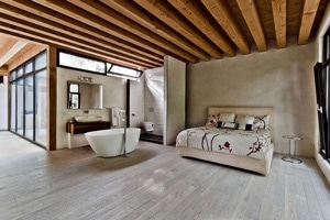 Profiter d'une salle de bain ouverte sur la chambre