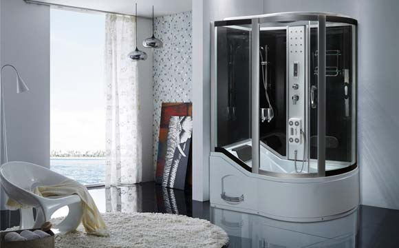 combin baignoire douche un 2 en 1 pratique et esth tique. Black Bedroom Furniture Sets. Home Design Ideas
