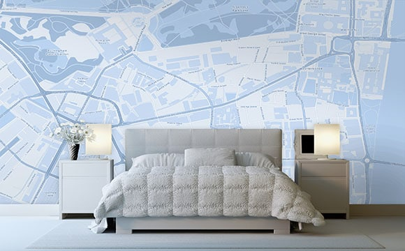 rev tement mural dans une chambre lequel choisir. Black Bedroom Furniture Sets. Home Design Ideas