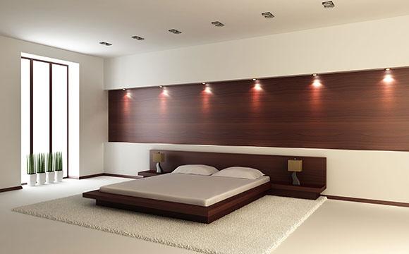 Clairage de chambre luminaire applique et plafonnier - Eclairage chambre spot ...