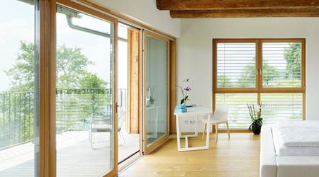 Prix d'une baie vitrée bois