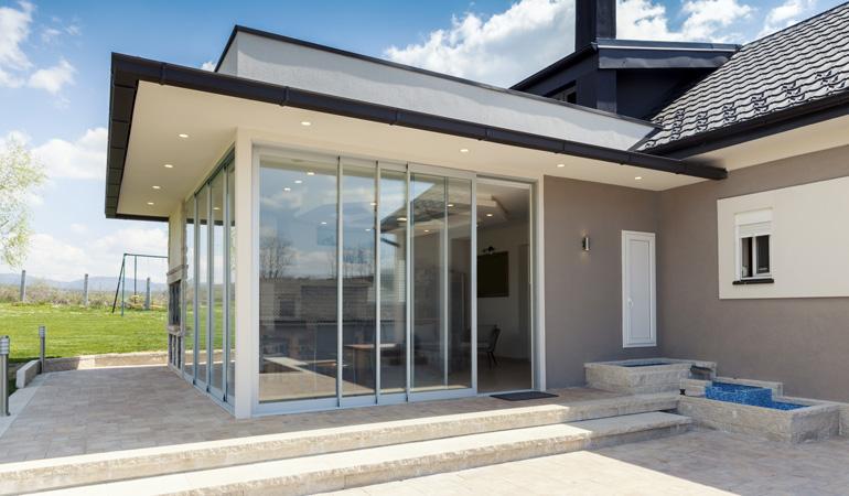 Tarif d'une baie vitrée coulissante selon les dimensions