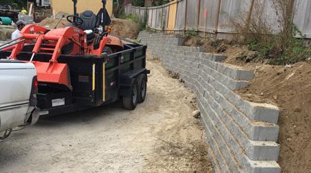 Coût de construction d'un mur de clôture