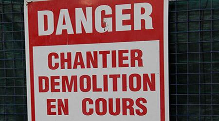 Demande de permis de démolition de maison