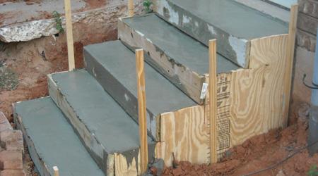 Coût de construction d'un escalier béton