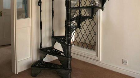 Le coût de réalisation d'un escalier colimaçon