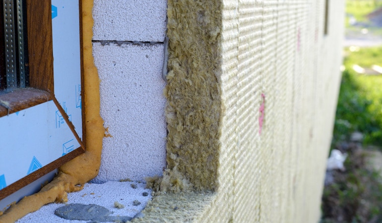 Tarif d'une isolation sous bardage PVC