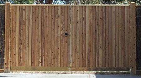 Tarif du portail en pin (ou sapin)