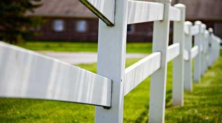 Tarif de pose d'une clôture bois