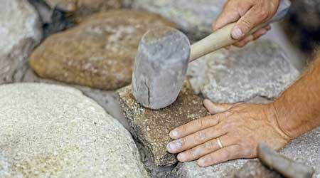 Tarif de pose d'une clôture en pierre