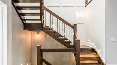 Le coût de réalisation d'un escalier quart tournant