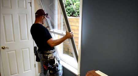 Tarif de pose d'une fenêtre en bois
