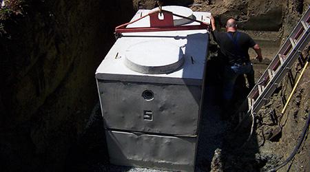 Tarif d'installation d'une fosse septique