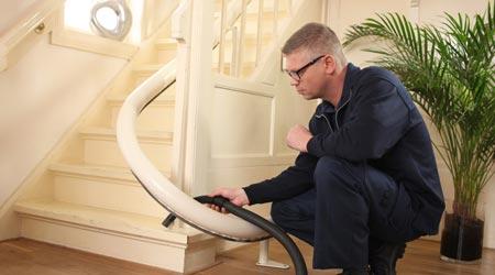Coût d'installation d'un monte escalier
