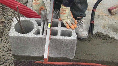 Coût de construction d'un mur en parpaings