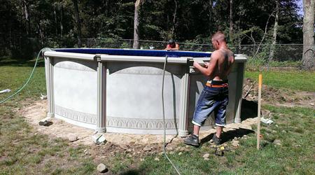 prix dune piscine hors sol co251t moyen amp tarif de pose
