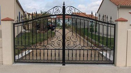 devis portail  L'Union