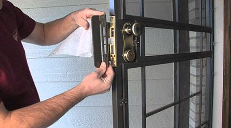 Tarif de pose d'une porte d'entrée en acier