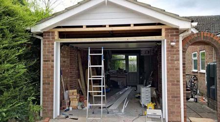 Tarif de pose d'une porte de garage basculante
