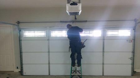 Tarif de pose d'une porte de garage électrique