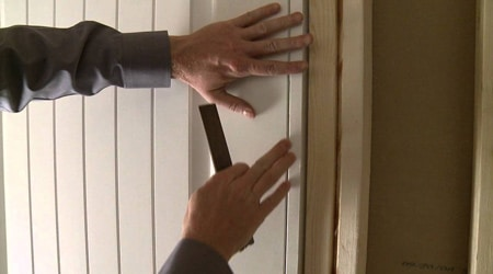 Tarif de pose d'une porte intérieure PVC