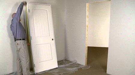 Tarif de pose d'une porte intérieure