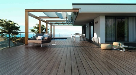Coût de construction d'un toit terrasse