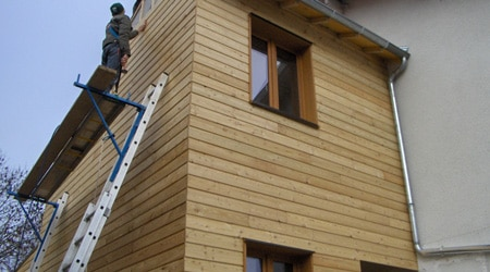 Prix d 39 une extension en bois co t de construction for Cout d une extension